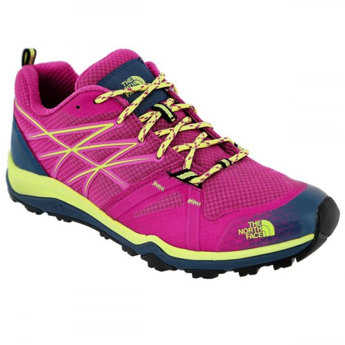 Кроссовки женские The North Face W HH FASTPACK LITE T0CCH9-AQK-GLO-PINK-CHIFFRON-YELLOW