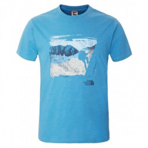 Футболка The North Face M S/S MOUNTAINEERING TEE T0CEQ6-BH0-HERON-BLUE