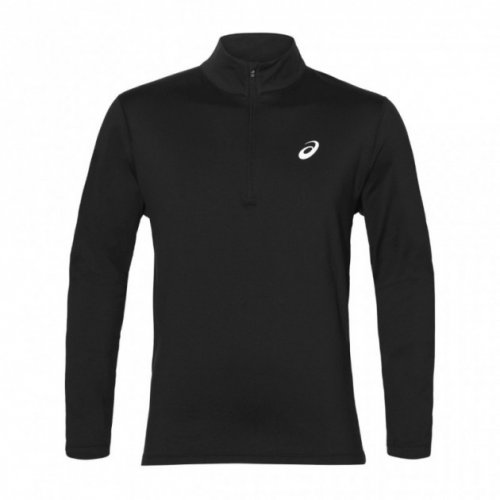 Футболка з довгим рукавом бігова ASICS SILVER LS 1/2 ZIP WINTER TOP 2011A013-001