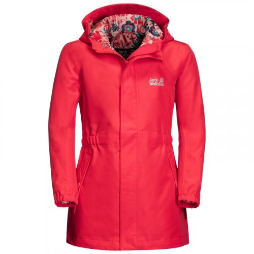 Вітровка дитяча Jack Wolfskin HIDDEN FALLS JACKET GIRLS 1607712-2058